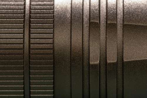 black metal texture macro close up