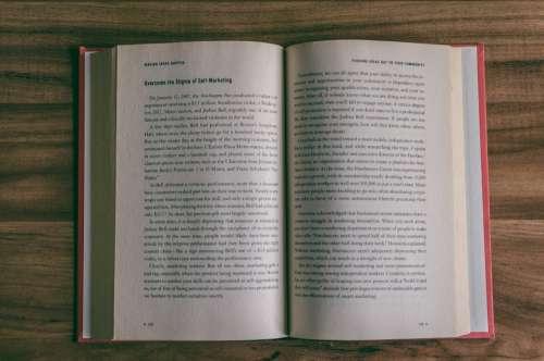 open book desk wood read