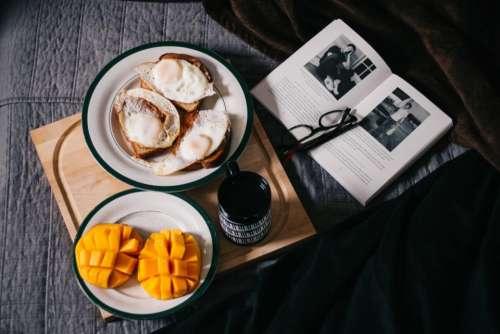 food mangoes fruit dessert egg