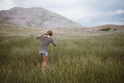 green grass highland grassland landscape