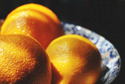 oranges fruit bowl raw food healthy food