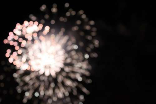 fireworks fire party night celebration