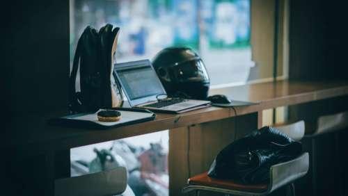 laptop motorbike helmet bags business