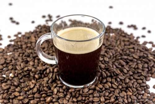 beans seeds black brewed coffee