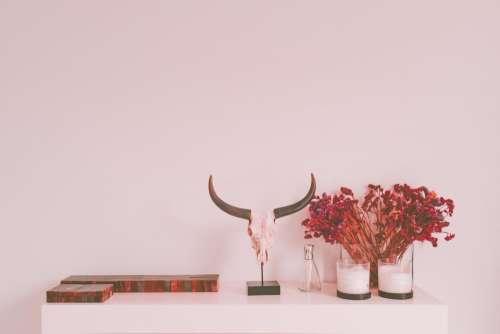 house interior design display table