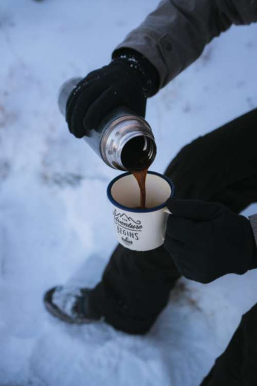 adventure coffee mug cup cold