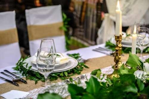 table setup napkin cutlery plate