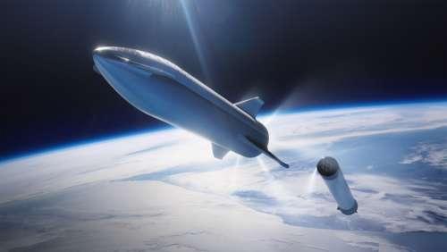 rocketship spaceship space earth travel