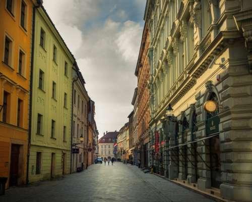 city bratislava colors old arhitecture