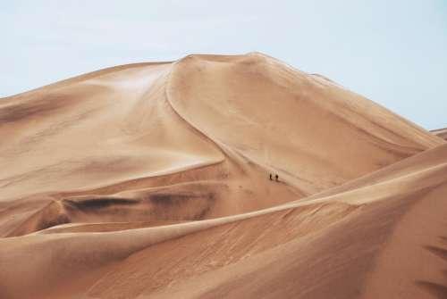 nature sand people travel adventure