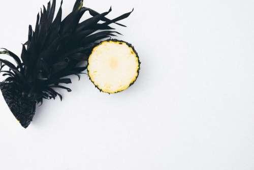 slice pineapple dessert appetizer fruit