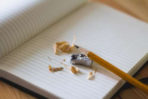 notebook paper pencil sharpener business