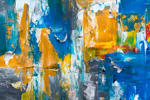 abstract art paint close up canvas