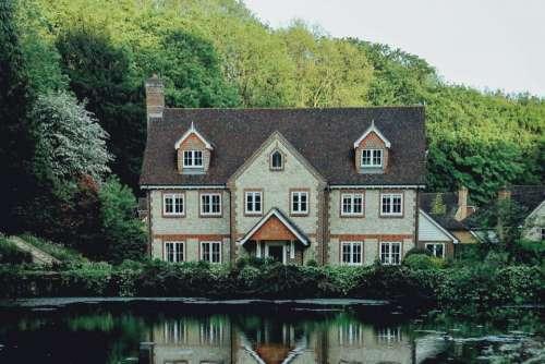 house home mansion residence neighborhood