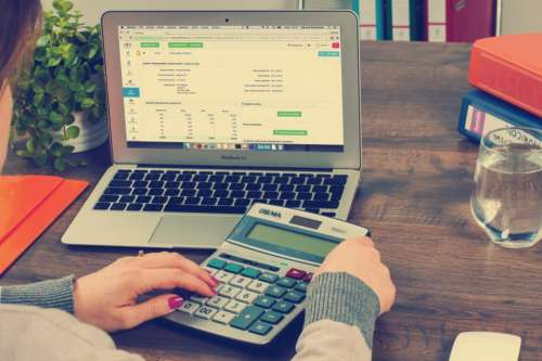 accounting finance money spreadsheet calculator