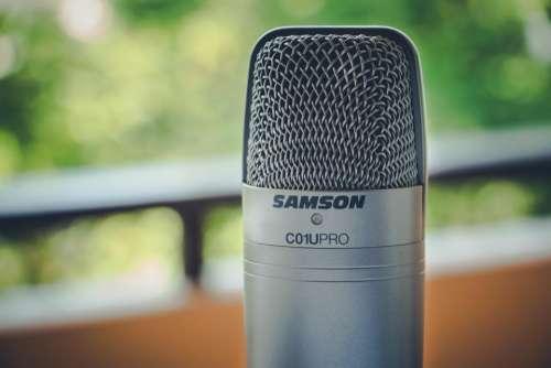 technology studio recording audio gadgets