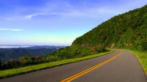 rural road highway pavement coast