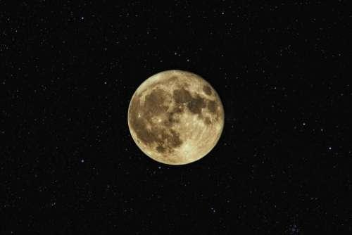 dark moon satellite space stars