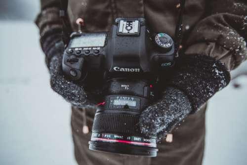 winter snow camera photographer photography