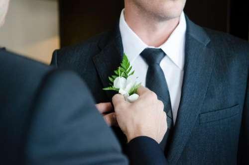 groom wedding suit tie people