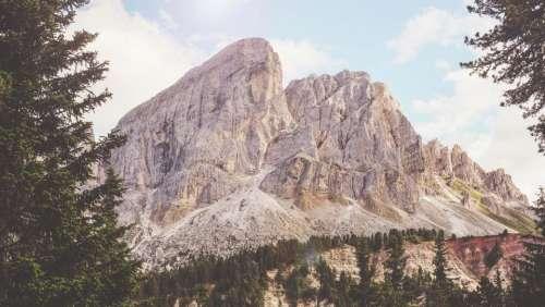 rocks hill mountain landscape view