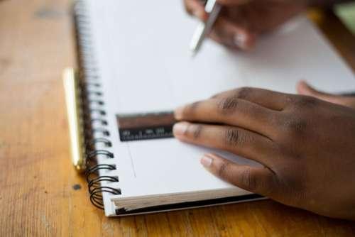 student school classroom desk notepad