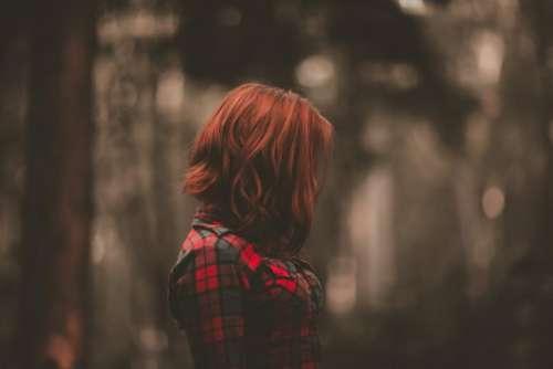 people girl alone sad outside