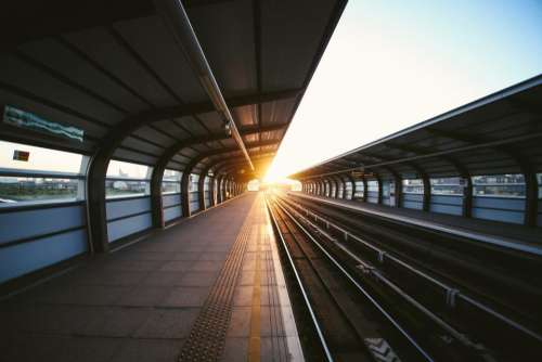 railway rail train station pattern
