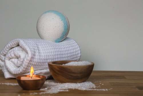 candle cloth ball styro foam pestle