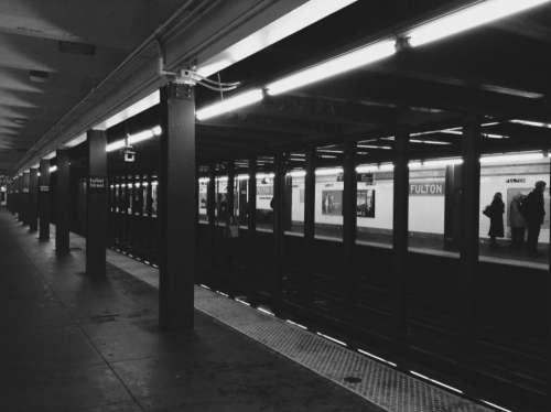 subway station transportation city urban