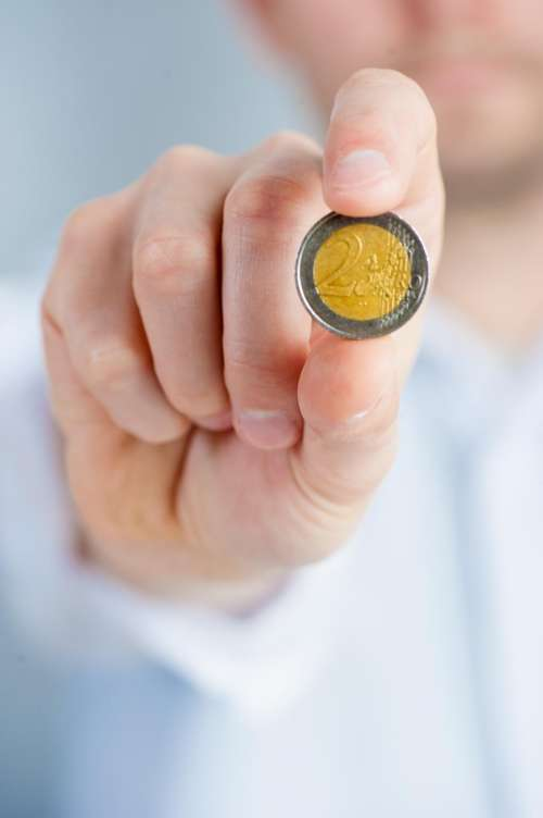 euro coin money finance currency