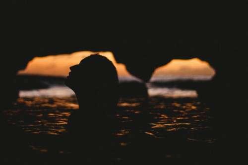 people woman girl swimming sea