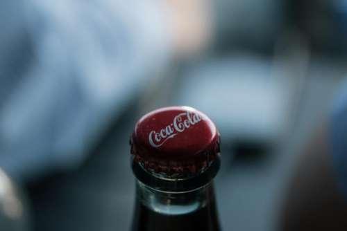 coca-cola soft drink soda beverage bottle