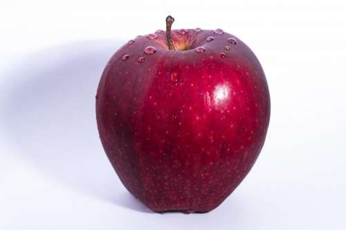 apple red fruit crop food