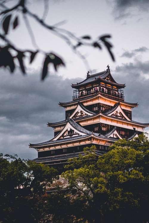 architecture building infrastructure design hiroshima castle
