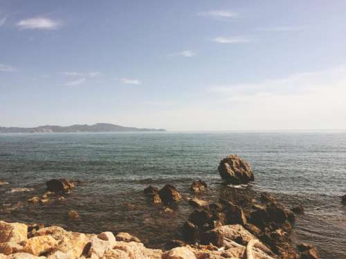 sea ocean water wave nature