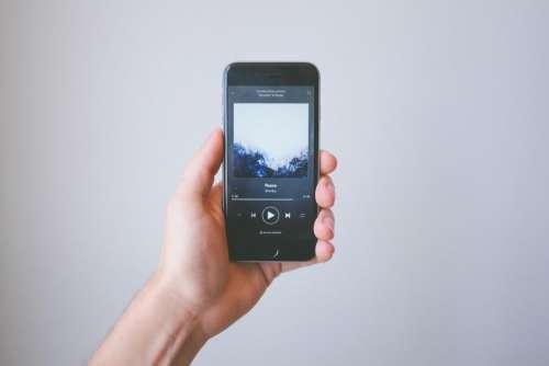 mobile phone electronic gadget modern
