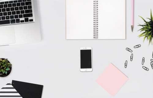 office desk accessories business laptop