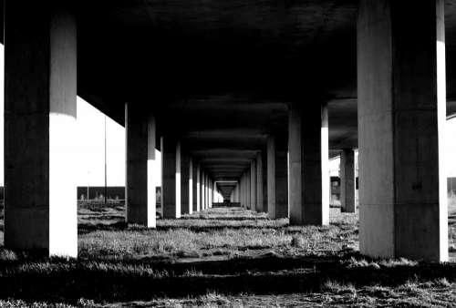architecture structures bridges modern art