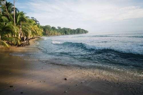 nature landscape coast beach shore