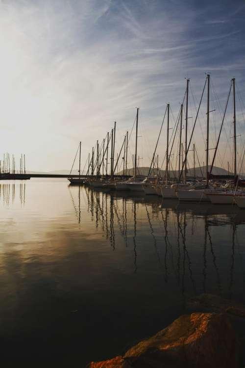 nature water river alke boat