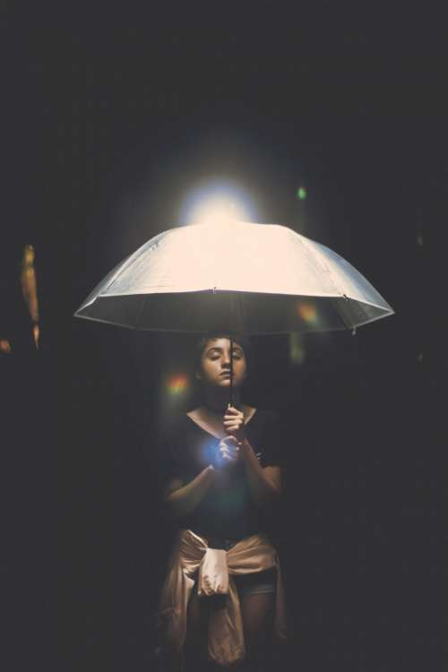 people woman beauty highlight umbrella