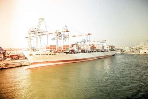 ship cargo travel water transportation