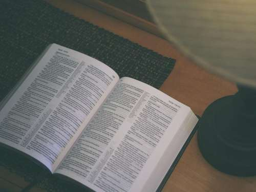 holy book bible reading religion