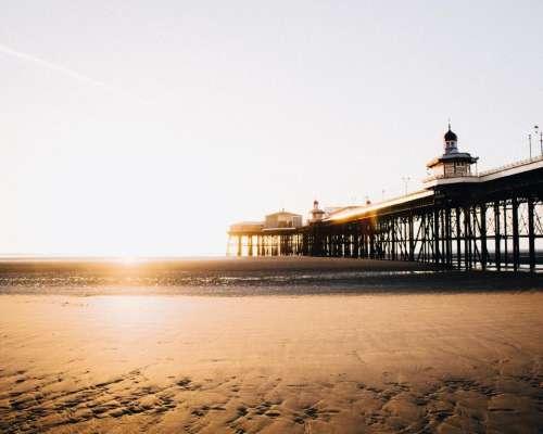 morning sunshine sunrise sky beach
