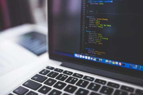 code coding programming css work
