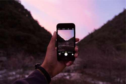 iphone photo camera photographer mobile