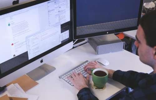 office desk business working creative