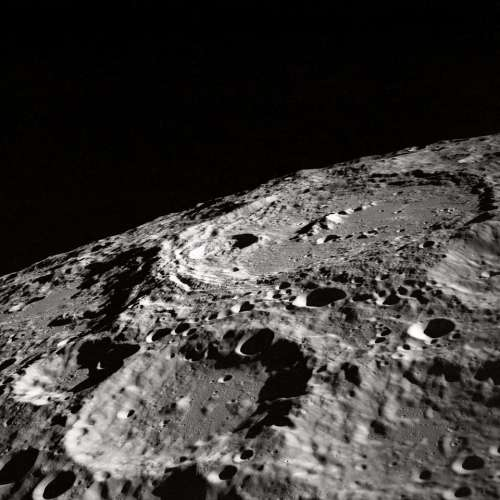 moon rough surface gravity dark