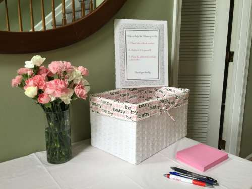paper pen box flower vase